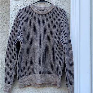 LL Bean Shetland Wool Crewneck Men's Sweater L